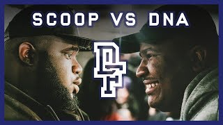 Fan favourite's newcomer, Scoop (London, England) goes up against the most viewed American battle rapper in the world, DNA (Queens, NYC)Subscribe to Don't Flop's Patreon for extra perks:http://www.patreon.com/dontflopBUY TICKETS FOR OUR UPCOMING EVENTS: http://www.dontflop.com/ticketsWATCH OUR LATEST EVENTS ON PPV: http://www.dontflop.com/PPVCLICK HERE TO SUBSCRIBE: http://www.dontflop.com/subscribeJOIN THE DISCUSSION:https://www.facebook.com/groups/ViewPointDFMCs:http://www.twitter.com/DNA_GTFOhttp://www.twitter.com/Scoop_se25 Filmed By:http://www.twitter.com/BodyBagnallhttp://www.twitter.com/Charlie_Hyamshttp://www.twitter.com/BenWMarshEdited By:http://www.twitter.com/Cruger7Instrumental By:https://soundcloud.com/wizardbeatsukLinks:http://www.dontflop.comhttp://www.twitter.com/DontFlophttp://www.facebook.com/DontFlop