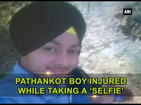 [VIDEO] Pathankot Boy accidentally shoots himself while taking Selfie with father