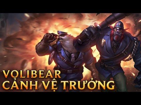 Volibear Cảnh Vệ Trưởng - Captain Volibear