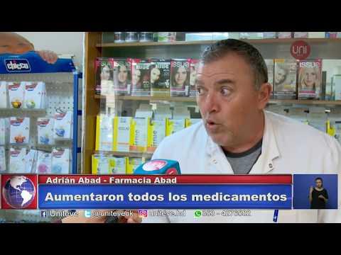 Los aumentos también llegaron a las farmacias