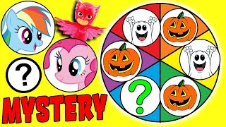 Halloween My Little Pony Spin The Wheel Mystery Game w/ Pinkie Pie, Rainbow Dash & Shutterfly!