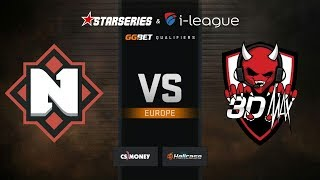 Nemiga vs 3DMAX, map 1 overpass, StarSeries & i-League S7 GG.Bet EU Qualifier