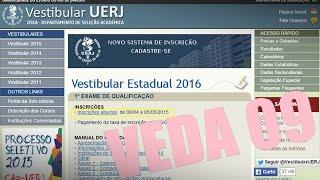 As inscrições ficarão abertas: de 08/04 a 05/05/2015. Para fazer a inscrição é só visitar o site da Uerj:...