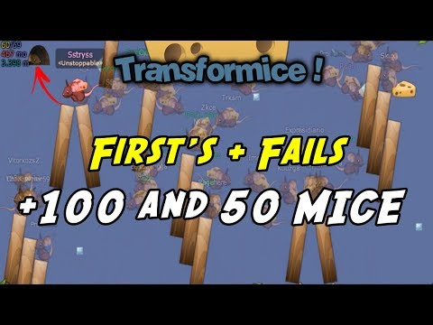 TRANSFORMICE - Gameplay +100 & 50 MICE #5 [HUMOR]