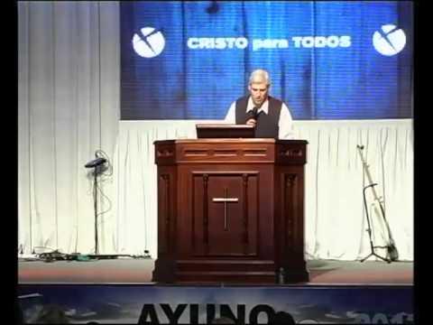 Visita del Pastor Claudio Cabrera