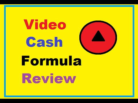 Video Cash Formula Review ② Video Cash Formula Demo