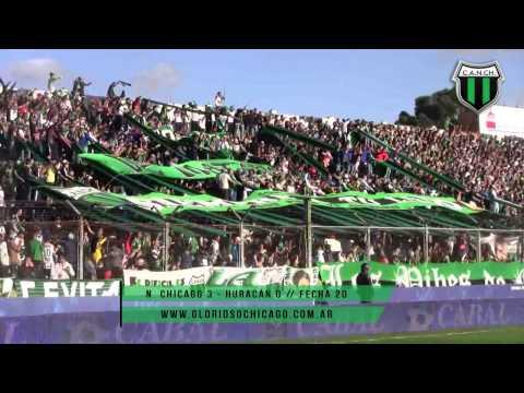 Nueva Chicago 3 - Huracan 0 // Fecha 20 - Primera División 2015 - Los Pibes de Chicago - Nueva Chicago