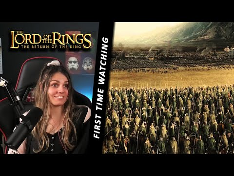 First Time The Lord of the Rings - Rohirrim Charge - REACTION Return of the King!