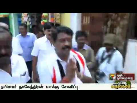 ADMK-Tirunelveli-candidate-Nainar-Nagendran-campaigning-along-with-party-functionaries