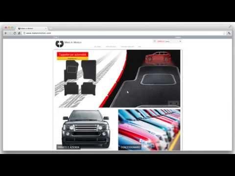 Come è semplice creare il vostro tappeto auto in MatsInMotion.com
