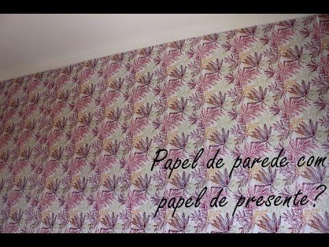 Imagens de papel de parede - PAPEL DE PAREDE COM PAPEL DE PRESENTE?