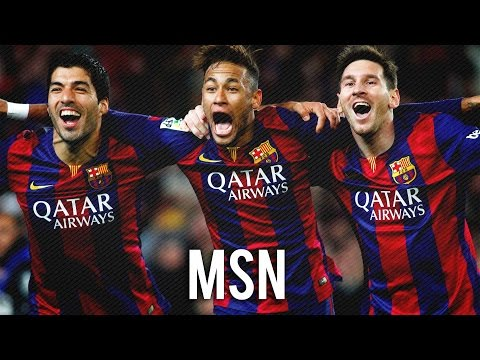 "Messi Suarez Neymar ""MSN"" ● All 137 Goals In 2015 ● With FC Barcelona 
