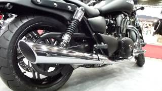 10. Triumph Thunderbird Storm 1700 97 Hp 185 Km/h 114 mph * see also Playlist