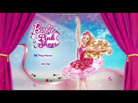 Barbie in The Pink Shoes | DVD Menu US