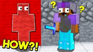 100% INVISIBLE MINECRAFT BED WARS TROLL!