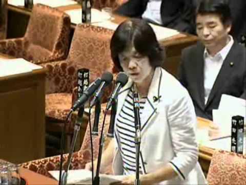 NHKが中継を打ち切った後、質問された不都合な事実 阿部知子