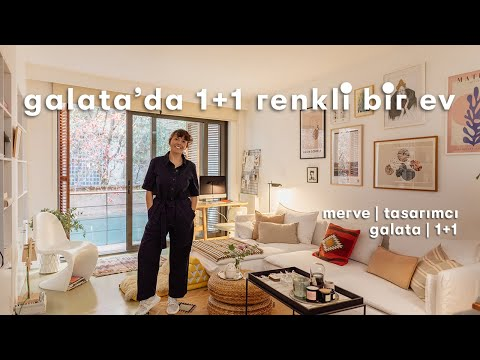 Merve'nin Galata'daki 1+1 Modern Evi