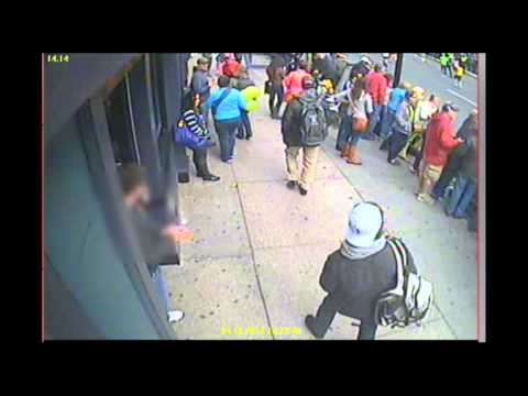 Video of Boston Marathon Bombing Suspects Released