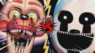 FUNTIME FOXY VS NIGHTMARIONNE - La Liga de FNAF   FIVE NIGHTS AT FREDDY'S ULTIMATE CUSTOM NIGHT (J1)