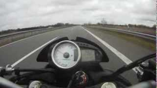 6. Kawasaki Z1000 Leovince Top Speed 268 km/h