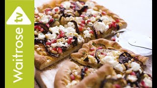 Rich Harris makes pizza with a twist, topping the dough with Middle Eastern flavours including feta, houmous and pomegranate. See the full recipe  http://www.waitrose.com/content/waitrose/en/home/recipes/recipe_directory/l/lebanese_pizza.htmlWaitrose TV YouTube channel  http://www.youtube.com/waitroseTwitter  http://www.twitter.com/waitroseFacebook  http://www.facebook.com/waitrosePinterest  http://www.pinterest.com/waitroseMore great recipes, ideas and groceries  http://www.waitrose.com