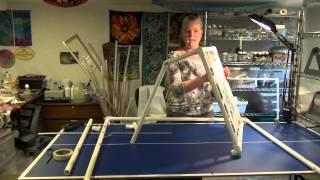 Making PVC Frame-Silk Painting Part 1