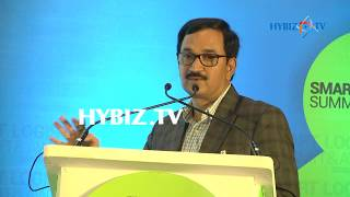 Ravinder Reddy  Director Marketing Bharathi cement corporation pvt ltd, Smart Logistics Summit and Awards 2017► Watch More Business Videos at Indias Leading online business channel http://www.hybiz.tv► Like us on Facebook:  http://www.facebook.com/hybiz► Watch More Videos on http://www.youtube.com/hybiztv► Subscribe to HYBIZTV Channel:  goo.gl/EEXqfu