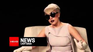 Lady Gaga Exclusive Interview VEVO News Preview