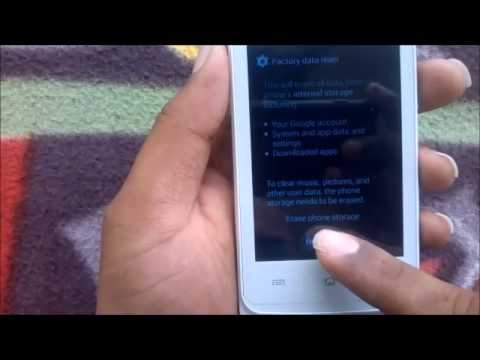 How to Hard Reset BLU Dash 4 5 D310i and Forgot Password Recovery, Factory Reset