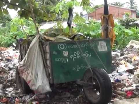 Rangoon residents left in filth as waste collection system fails