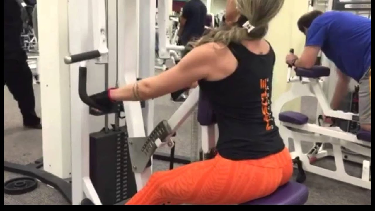 Back and Biceps Workout for women