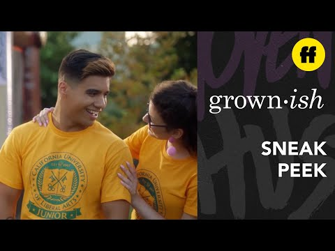 grown-ish Season 3, Episode 13 | Vivek Opens Up About His Relationship | Freeform