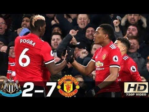 Newcastle vs Manchester United 2- 7   All Goals & Extended Highlights RÉSUMÉ & GOLES Last MatchesHD