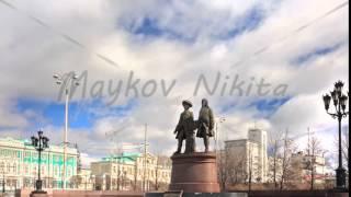 Vasily Tatischevv and Wilhelm de Genin. Zoom. Yekaterinburg, Russia. Time Lapse
