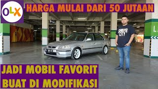 Download Video MURAH DAN MENYENANGKAN BUAT DI MODIFIKASI | Review dan Tips Beli Honda Civic Ferio MP3 3GP MP4