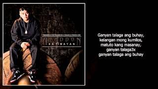 Abaddon - Ganyan Talaga Ft. Vlync (With Lyrics)