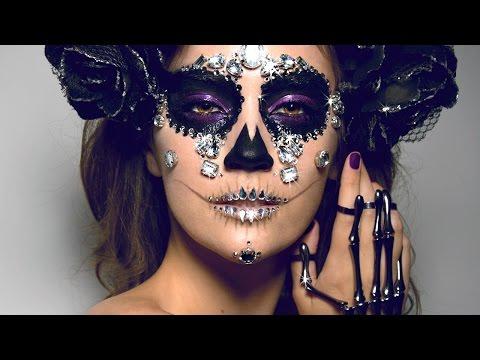 DIAMOND SUGAR SKULL Makeup Tutorial!   ORIGINAL LOOK