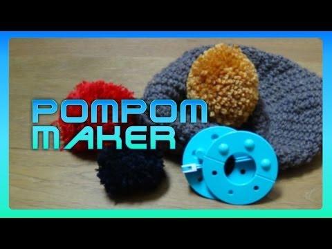 Wie nutzt man einen Bommel Maker? zB Addi Moon