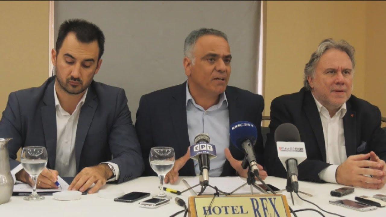 Συνέντευξη Τύπου στην Καλαμάτα με θέμα την επίθεση στο βουλευτή του ΣΥΡΙΖΑ