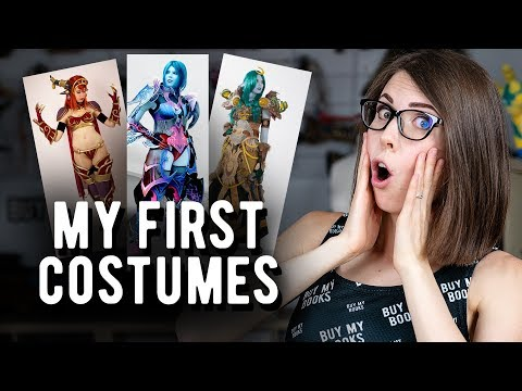 Kamui Cosplay: My first 10 (shitty) costumes!