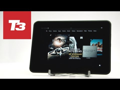 Kindle Fire HD 8.9 preview video