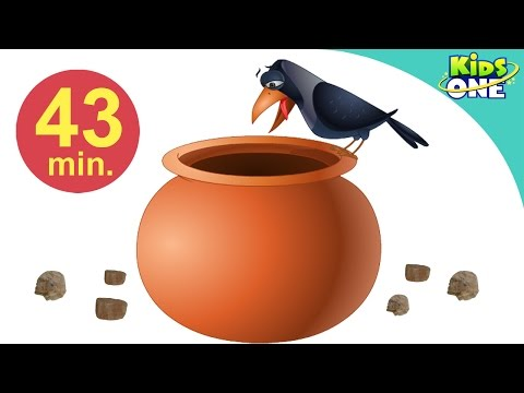 Ek Kauwa Pyaasa Tha | Hindi Children Rhymes | 43 Min Compilation