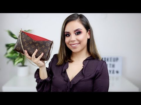 LOUIS VUITTON UNBOXING | PALLAS CLUTCH | MAKEUP WITH NAYA