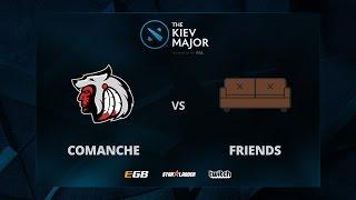 Comanche vs Friends, The Kiev Major EU Main Qualifiers