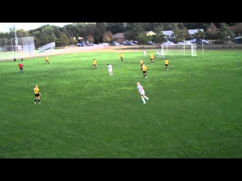 9-14-11 | Brittany Burant Scores Blugolds' First Goal vs. Superior