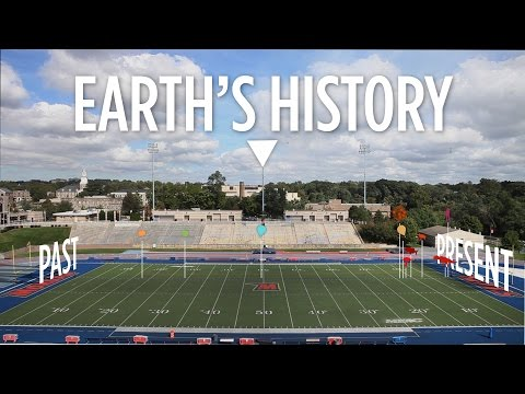 Earth s History Plays Out On A Football Field