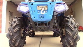 3. Highlifter 850 bumper and full walk around of the Woody edition.