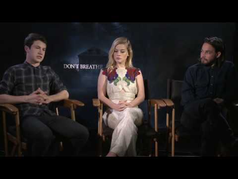 Don't Breathe Official Interview with Daniel Zovatto, Jane Levy, Dylan Minnette