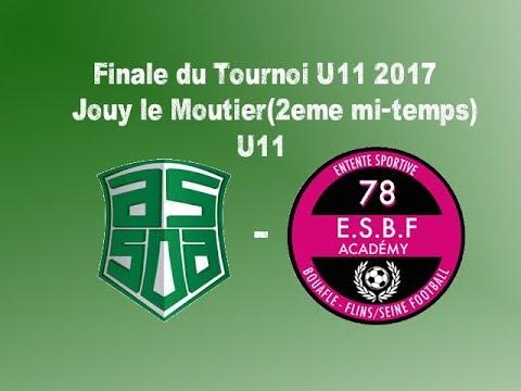2ème mitemps de la finale du tournoi U11 2017