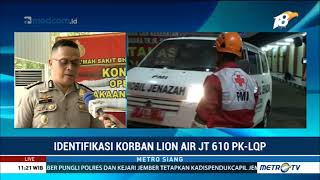 Video Laporan Terkini Proses Identifikasi Korban Lion Air MP3, 3GP, MP4, WEBM, AVI, FLV Januari 2019